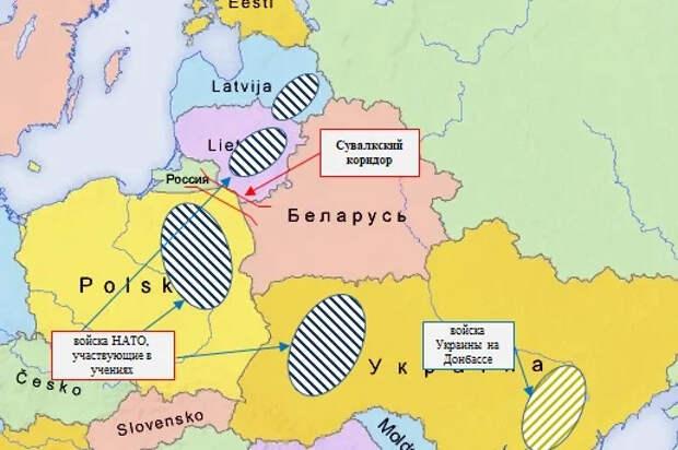Пазл сложился: учения НАТО, попытка переворота в Беларуси, Украина, Чехия.