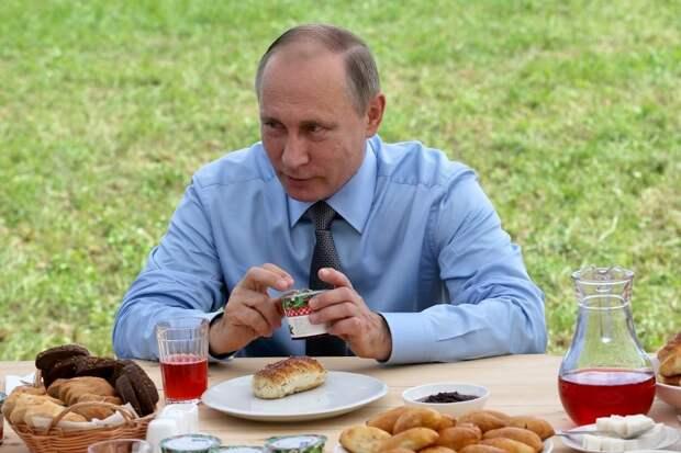 Что подают к столу президента В.В. Путина?