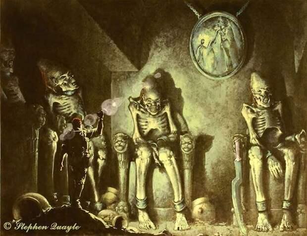 Легендарные великаны Перу, чьи скелеты видели конкистадоры