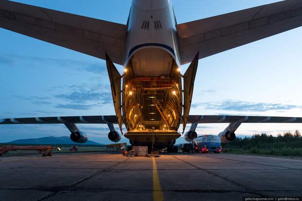 Ан-124 «Руслан» — самый большой в мире серийный самолёт