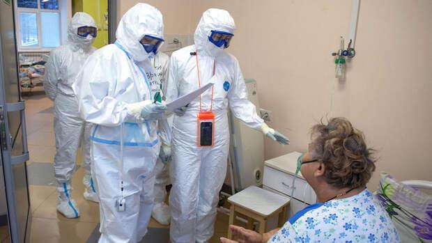 В России выявили 9 321 новый случай коронавируса