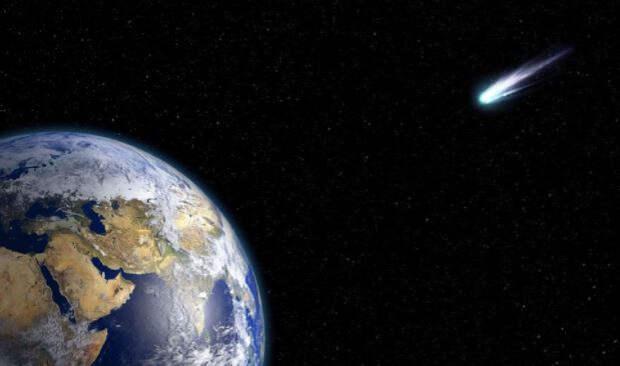 Американцы увидели астероид над Калифорнией