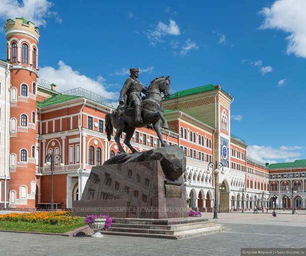Йошкар-Ола. Российский город. Хотите удивить иностранца... покажите ему фото этого города!!! Города России, фото