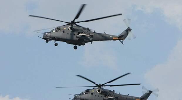 При жесткой посадке вертолета в Крыму пострадали трое военных