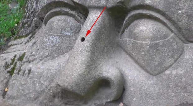 Сергиевка каменная голова
