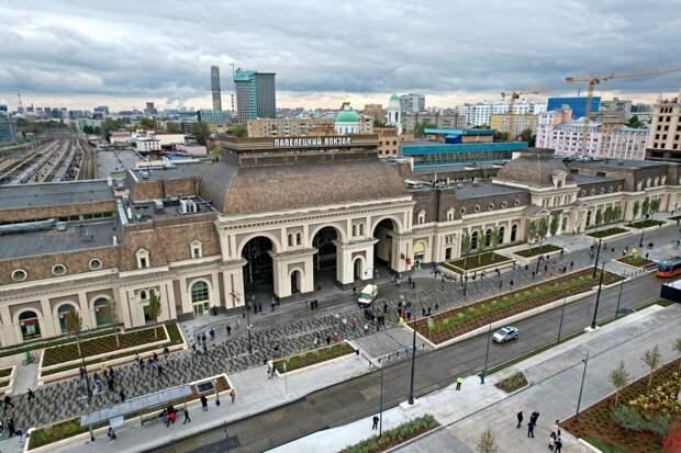 Павелецкий вокзал - Mos.ru