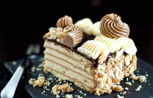 Несложный в приготовлении торт одним кусочком впечатлял вкусовые рецепторы. /Фото: povar.ru