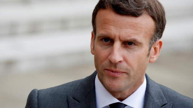 Макрон назвал число получивших первую дозу прививки от COVID-19 во Франции