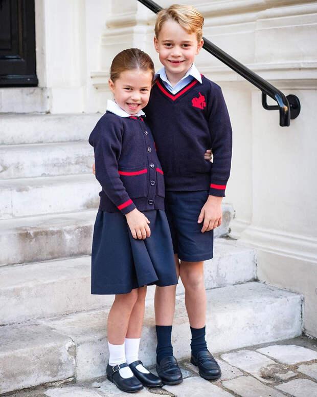 Принц Джордж ходит в школу под другим именем