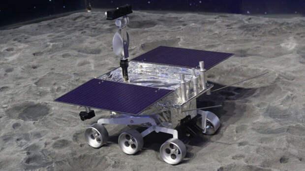 Странное желеобразное вещество на Луне