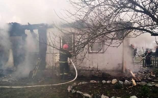 В Хмельницкой области при пожаре погиб пожилой мужчина