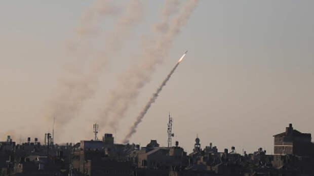 В пригороде Тель-Авива при ракетном обстреле из Газы погиб человек
