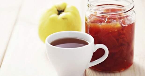 Чай из айвы чистит печень и желудок на клеточном уровне! Вот как его сделать