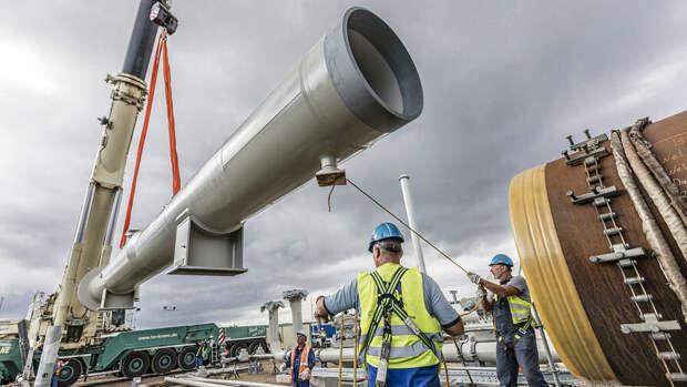 Ситуация с СП-2 на 10 июня. Соединение двух ниток газопровода закончат за неделю