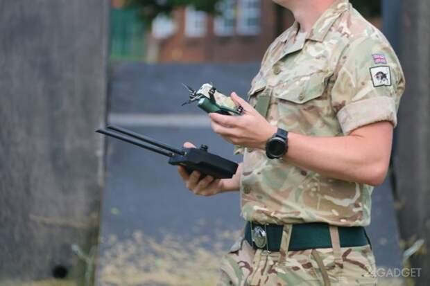 Компактный дрон Bug прошел испытание в частях армии Великобритании