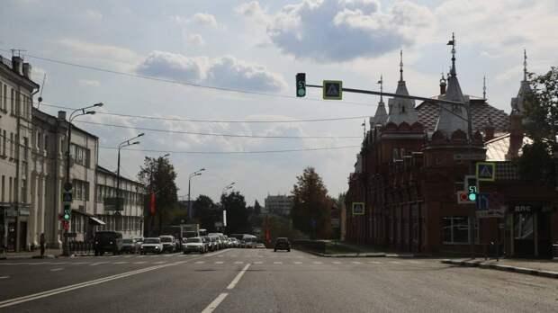 Участок проспекта Красной Армии отремонтировали в Сергиевом Посаде
