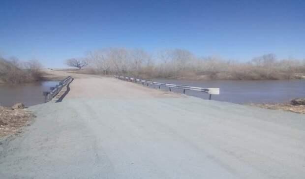 В Оренбуржья после паводка открыты для движения еще два моста