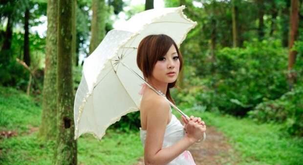 Необычная красота девушек из Азии, фотографии для настроения