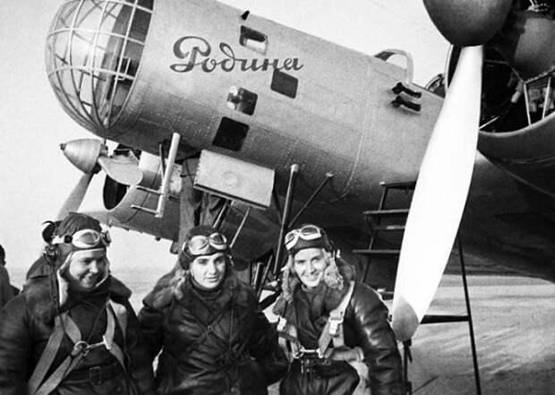 Падение «Родины»: как лётчица Марина Раскова выжила в тайге