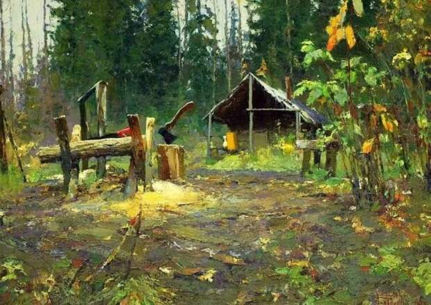Художник Васендин Юрий Дмитриевич