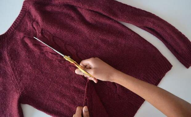 Переделка свитера (DIY)