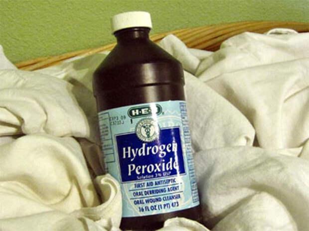 гидроген пероксид во флаконе