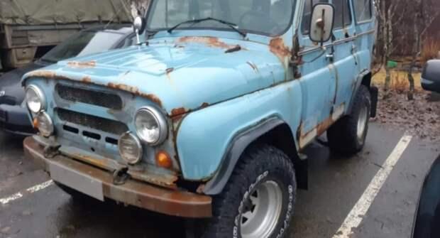 Модернизированный УАЗ-469 до сих пор покоряет дороги Исландии