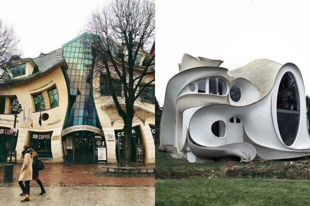 Архитектор был пьян: 10+ странных зданий, вызывающих слишком много вопросов