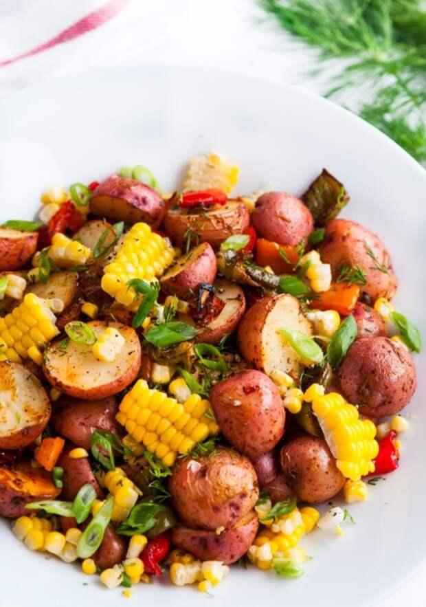 Вкуснейшие картофельные блюд