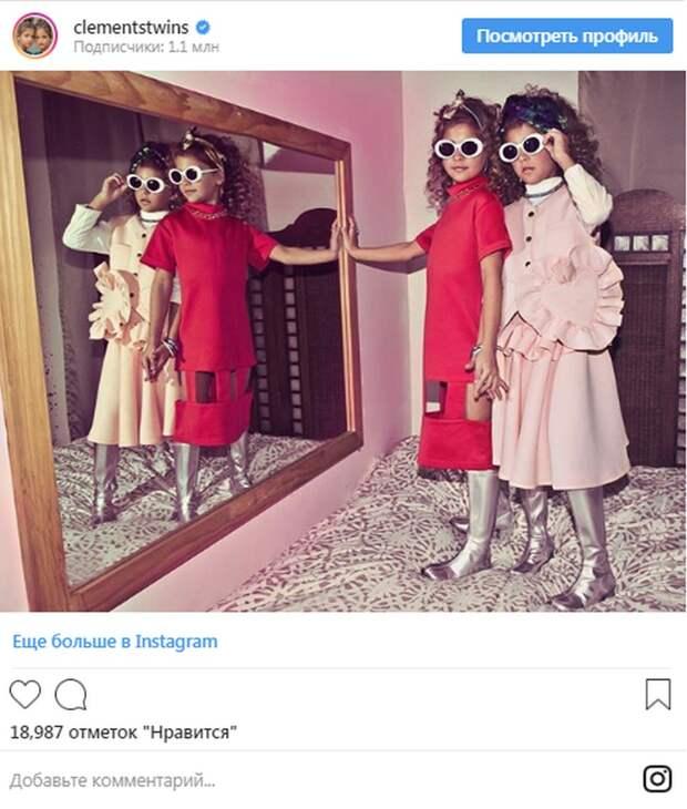 Самые красивые девочки-близняшки в Инстаграм