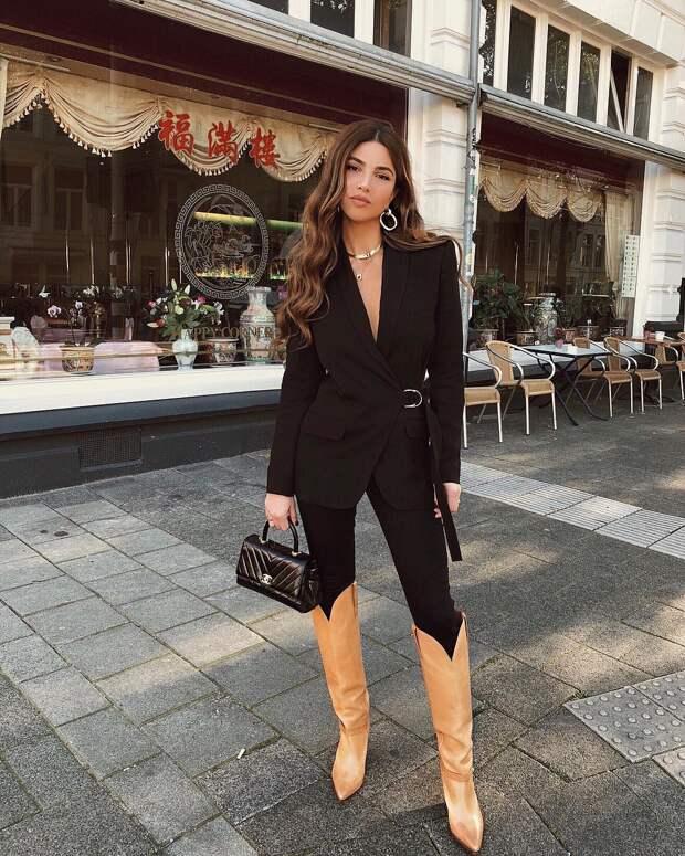 Модные образы зимы 2019 для бизнес-леди фото 11