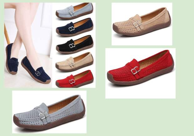 Фото 6 -  туфли женские (мокасины). joom