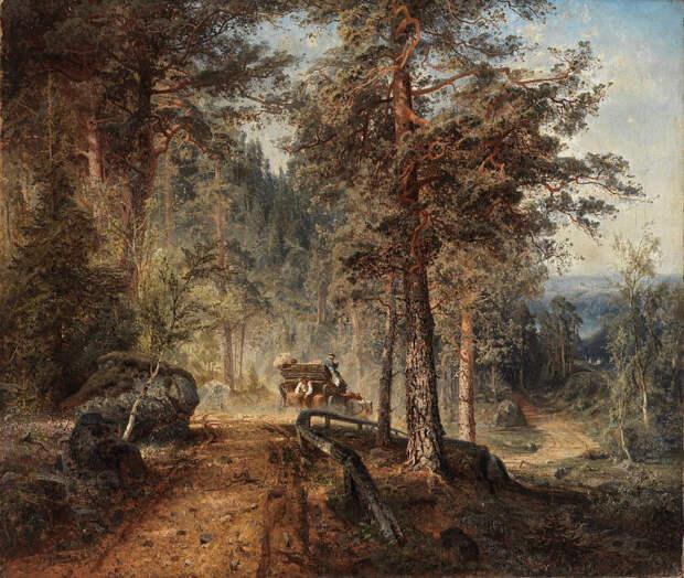 Финляндия на картинах финских художников