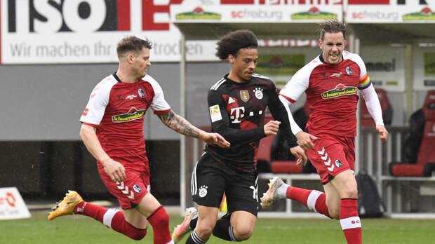 «Бавария» сыграла вничью с «Фрайбургом» в матче Бундеслиги