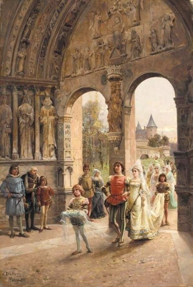 Чезаре Агостино Детти и его исторические картины