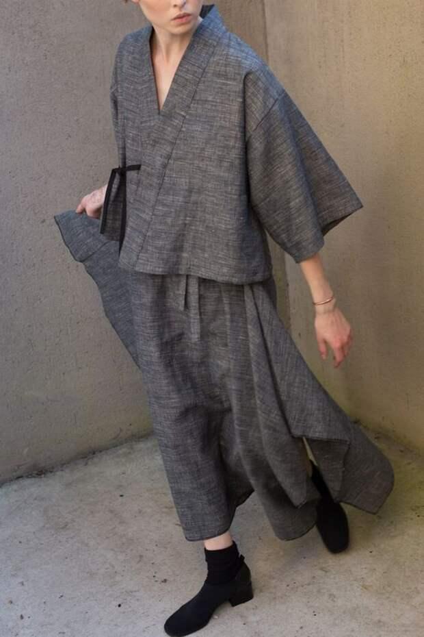 одежда в стиле кимоно бохо