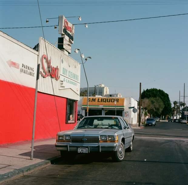 Красочная провинциальная Калифорния в фотографиях Тима Ронка америка, калифорния, стрит фотография, сша, тим ронка, фотография