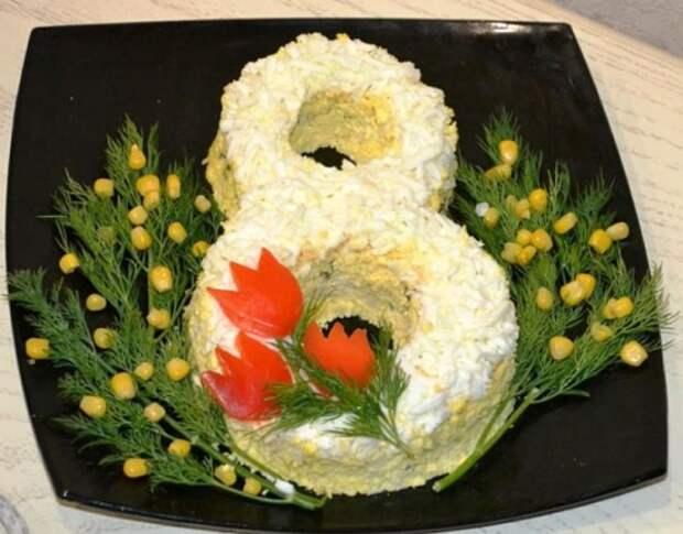 Весеннее настроение: самые красивые варианты оформления блюд к 8 марта