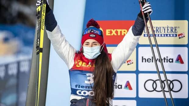 Русская лыжница уничтожила норвежек и шведок в финале Кубка мира