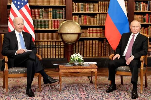 Байден уравнял США и Россию - две великие державы