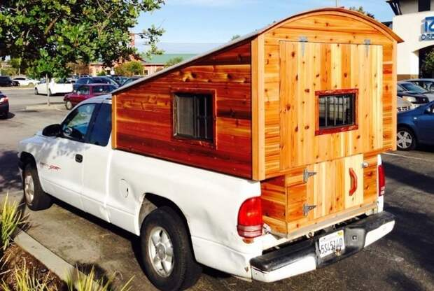 Удивительные ретро-грузовики переоборудованные в дома на колесах авто, автомобили, грузовик, дом на колесах, жилище, кемпер, олдтаймер, ретро авто