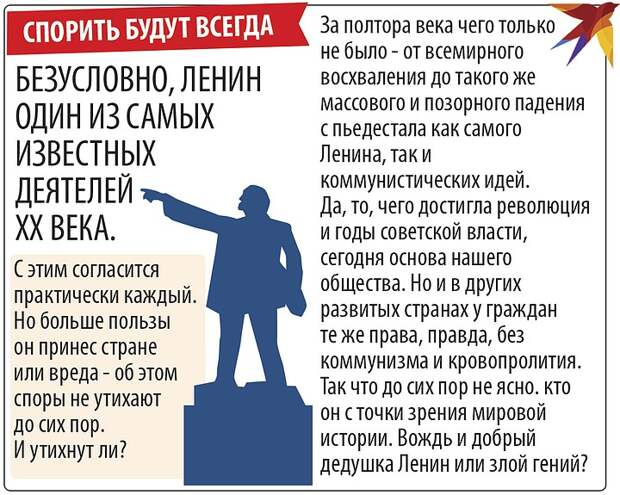 Кем был Ленин для России: добрый дедушка или злой гений?