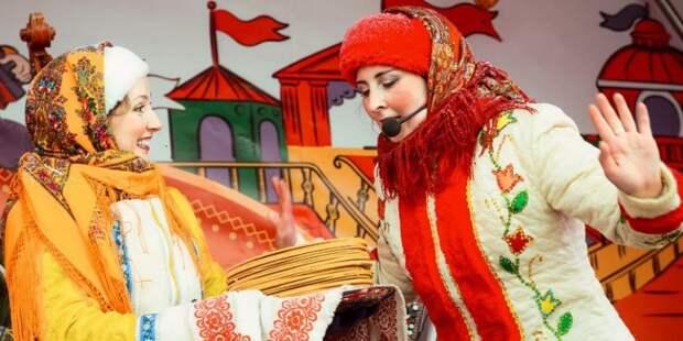 На катке в Вологодском проезде пройдет яркий праздник в честь Масленицы