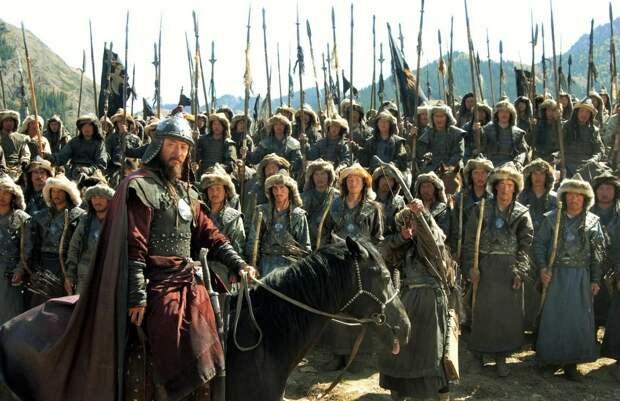 Кадр из сериала Чингисхан, 2004г.
