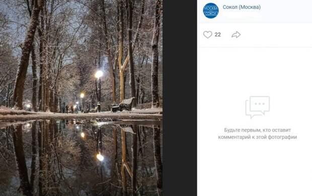 Фото дня: отражение Сокола в воде