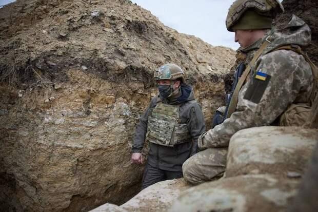 Зеленский на Донбассе, беженцы в Мариуполе - Украина на грани катастрофы
