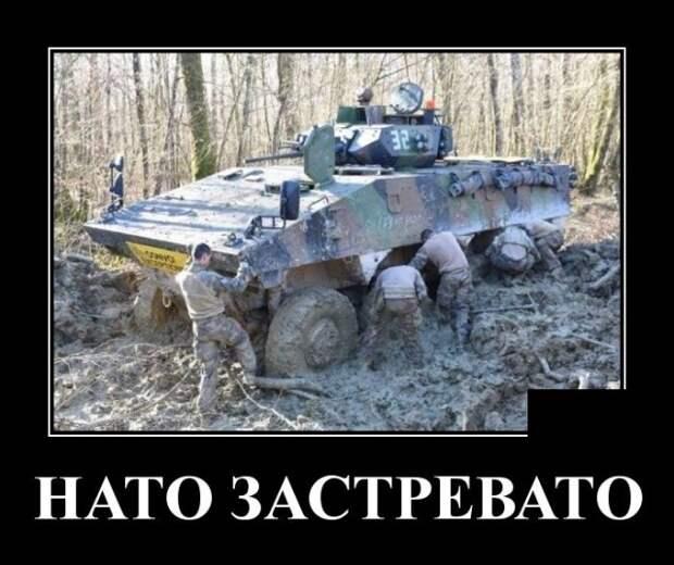 Демотиватор про НАТО