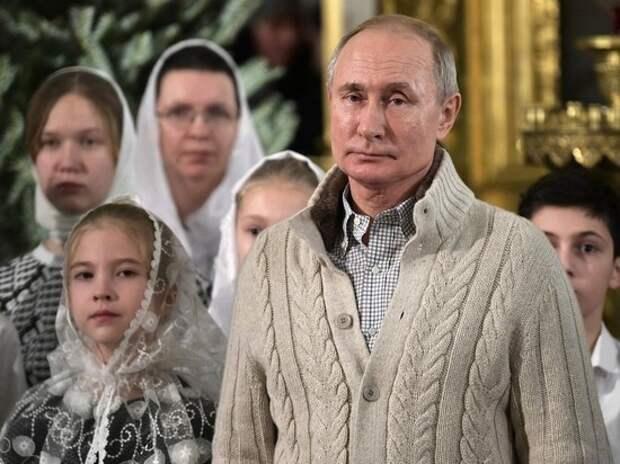 Путин всё-таки внес в Конституцию поправку о Боге