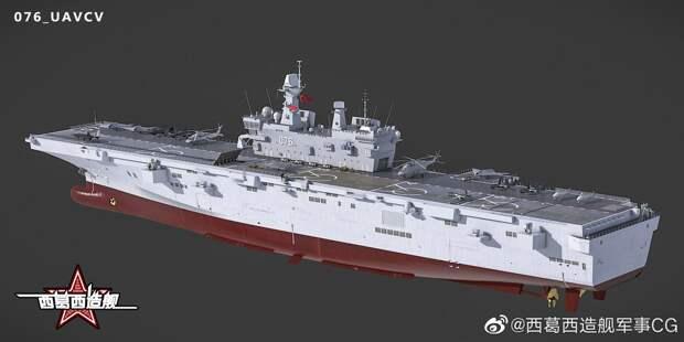 Перспективный китайский УДК Type 076