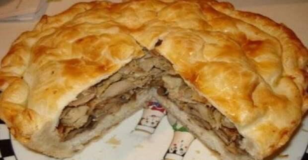 Узбекский курник. Его называют царём пирогов 4